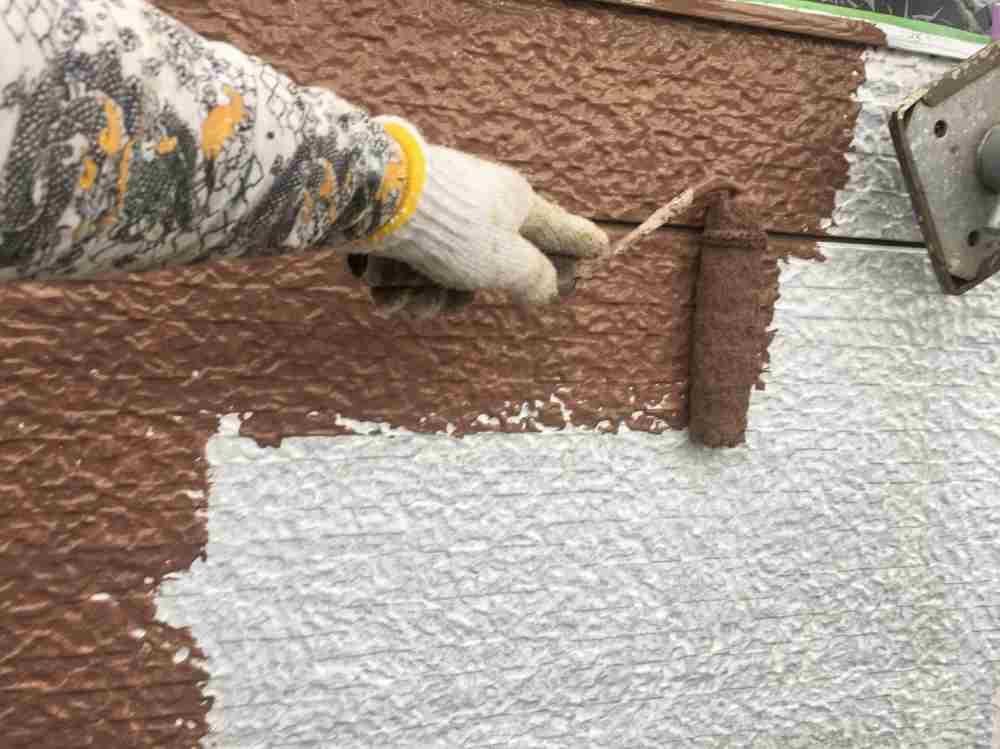 中塗り工事