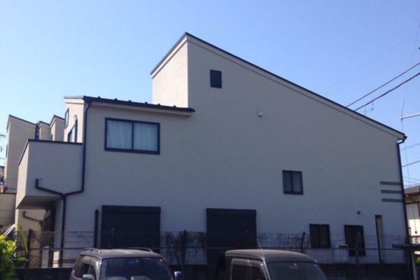 神奈川県横浜市 外壁塗装 チョーキング 防汚 防カビ