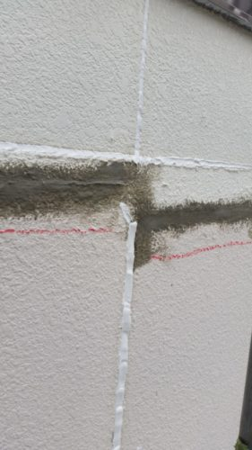 神流川県大和市外壁塗装工事 外壁補修の画像