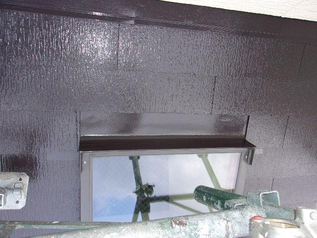 塗装後の屋根の画像