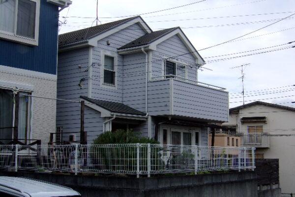 川崎市 外壁 樹脂系サイディング カバー工法