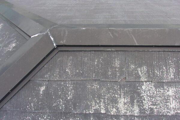 横浜市 塗装工事 屋根 棟板金 K様邸