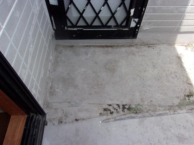 防水塗装施工前の画像